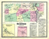 Richfield, Monticello, Brighton Corners, Otsego County 1868